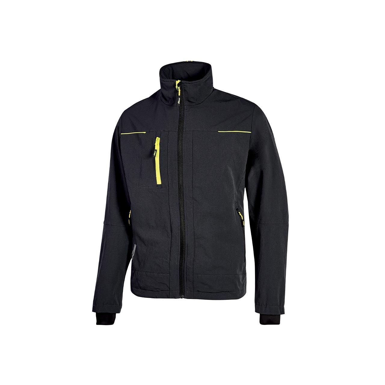 giacca da lavoro upower modello pluton colore black carbon prodotto