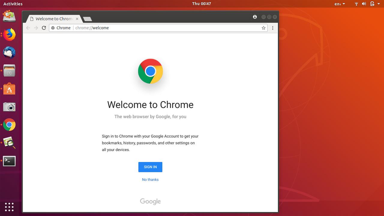 How to Install Google Chrome in Ubuntu 18.04 LTS