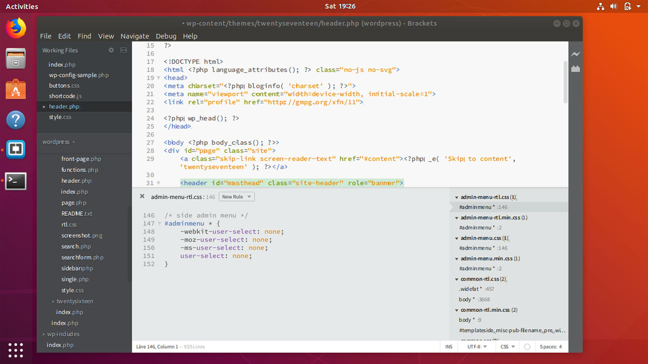 How to install Brackets Code Editor on Ubuntu 18.04
