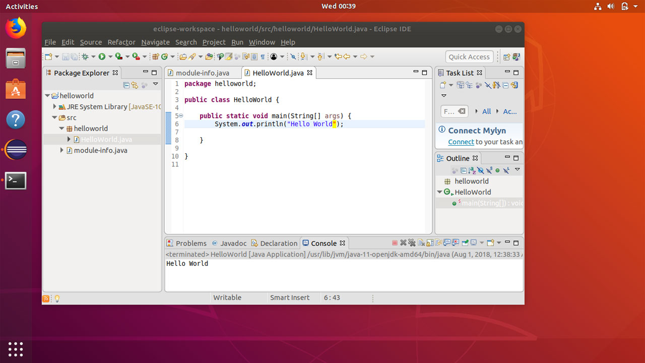 eclipse neon download for ubuntu 18.04