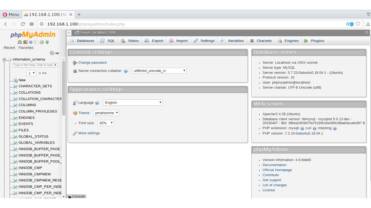 How to Install phpMyAdmin in Ubuntu 18.04 Server