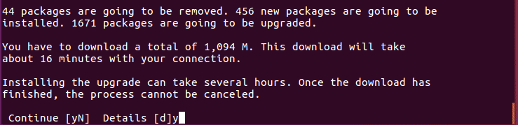 The do-release-upgrade upgrade command will check for the new Ubuntu release
