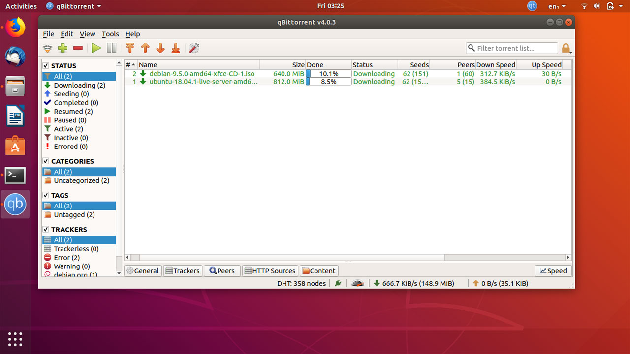 How to install qBittorrent on Ubuntu 18.04