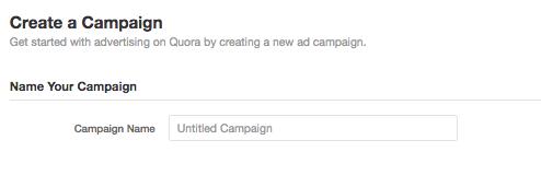 Quora Campaign