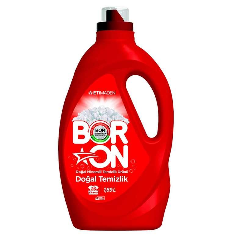 Boron sıvı deterjan doğal temizlik