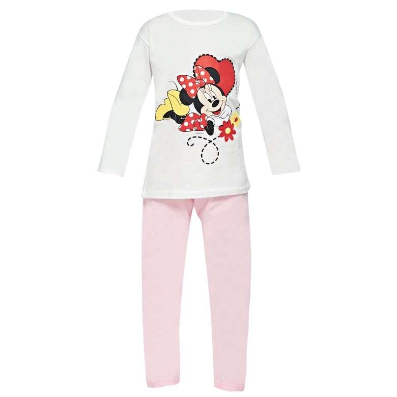 Lisanslı çocuk uzun kollu pijama, kırmızı, 9-10 yaş