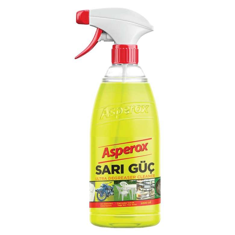 Asperox genel amaçlı temizlik sıvısı sarı güç