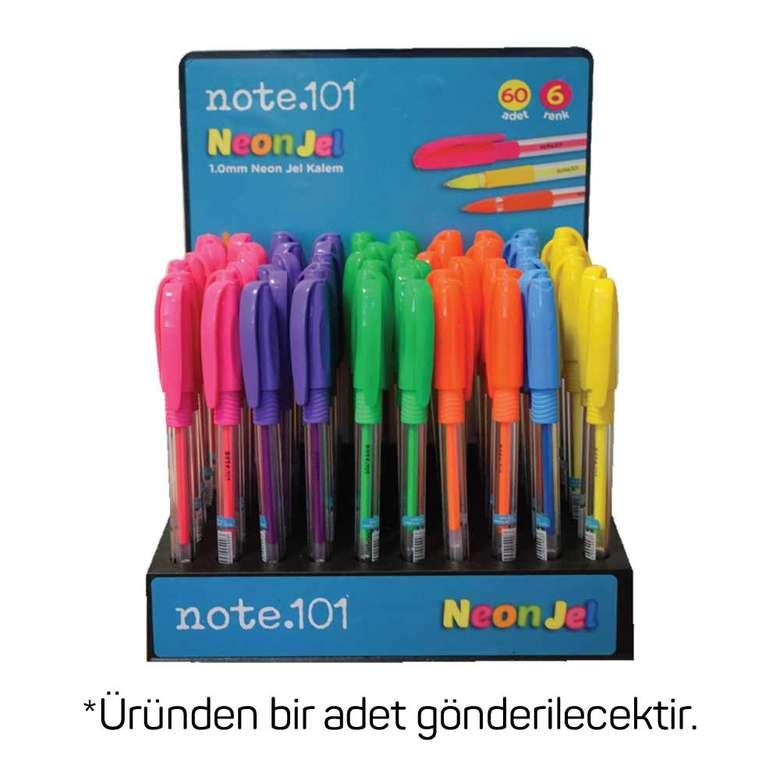 Note 101 neon jel kalem