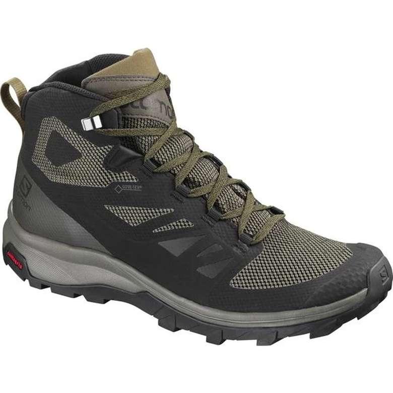 Salomon 404763 erkek ayakkabı - yeşil 42