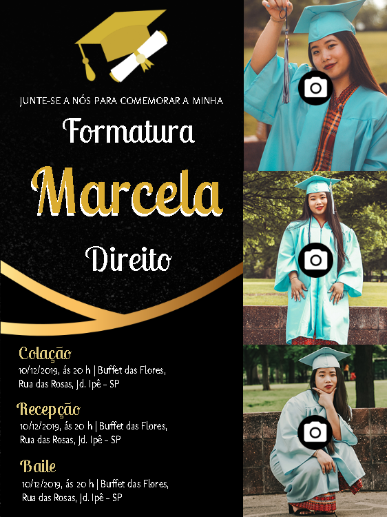 Graduation Invitation 3 Photo