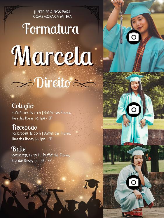 Graduation Invitation 3 Photo