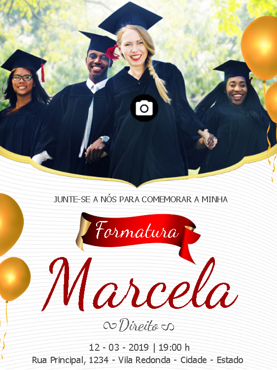 Graduation Invitation Photo