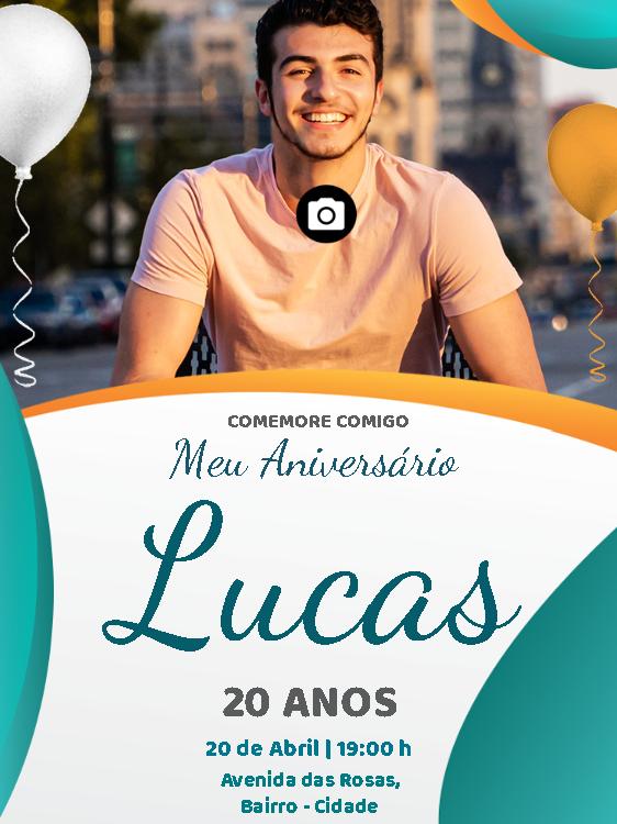 Convite de Aniversário Foto