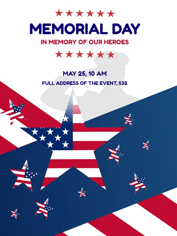Memorial Day Invitation