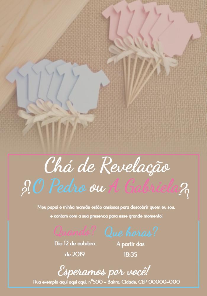 Tea Revelation Invitation