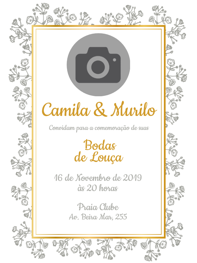 Wedding Dinnerware Invitation