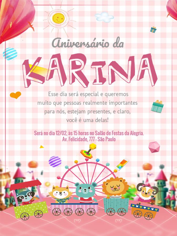 Child Birthday Invitation