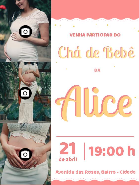Baby Shower Invitation 3 photos