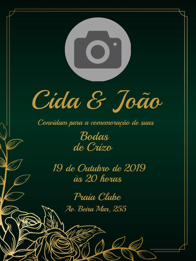 Wedding Invitation of Christ