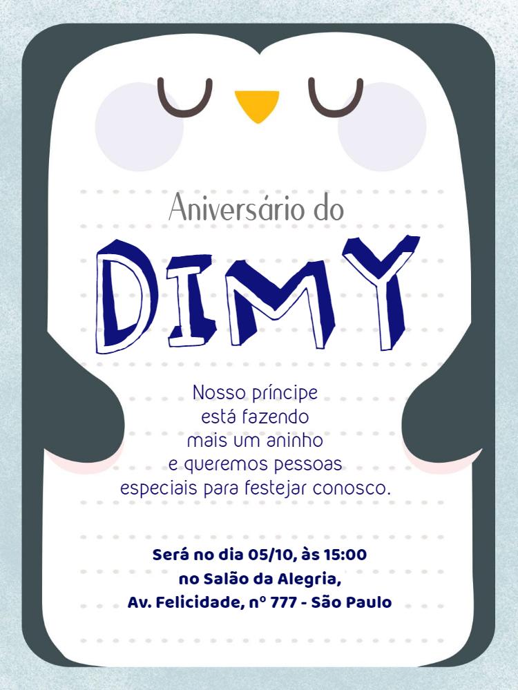 Children's Birthday Invitation