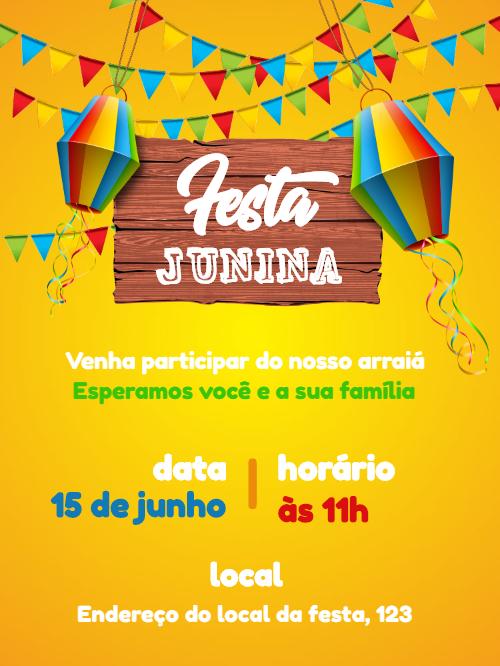 June Party Invitation