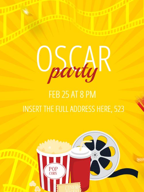 Oscar invitation