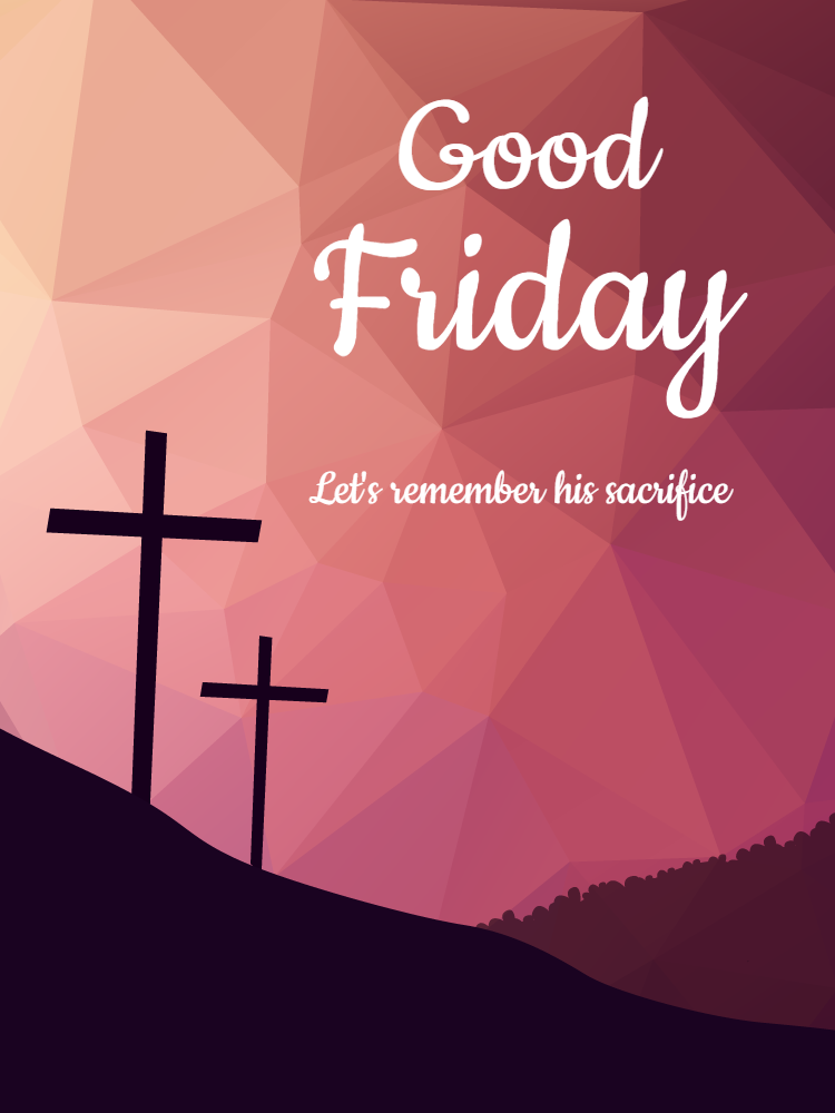 Good Friday Celebration Invitation