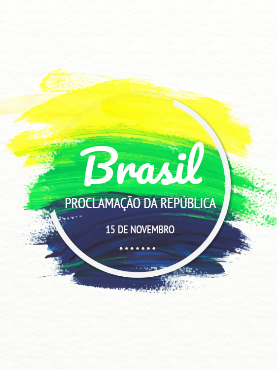 Proclamation of the Republic of Brazil - Circular