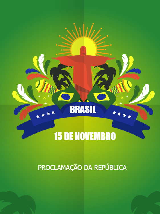Card Proclamation of the Republic of Brazil