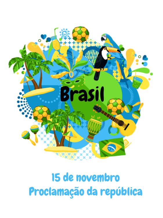 Proclamation Card of the Brazil Alegre Republic