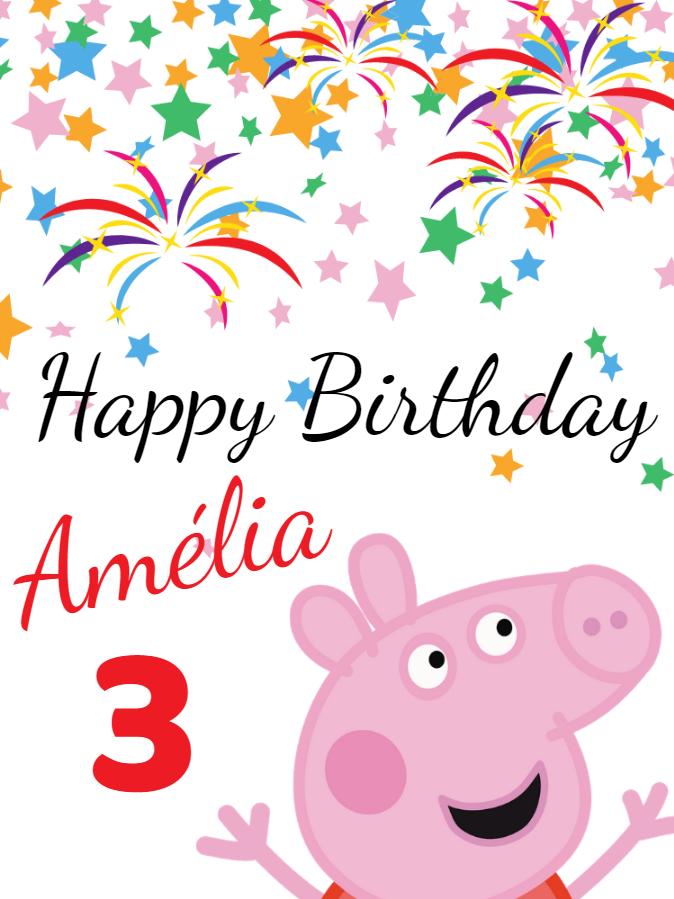 Fazer convite online convite digital birthday card peppa pig