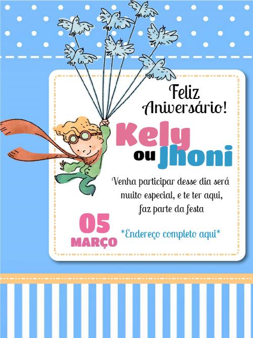 Little Prince Birthday Invitation