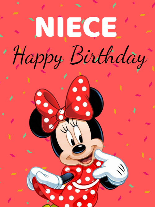birthday card Minnie