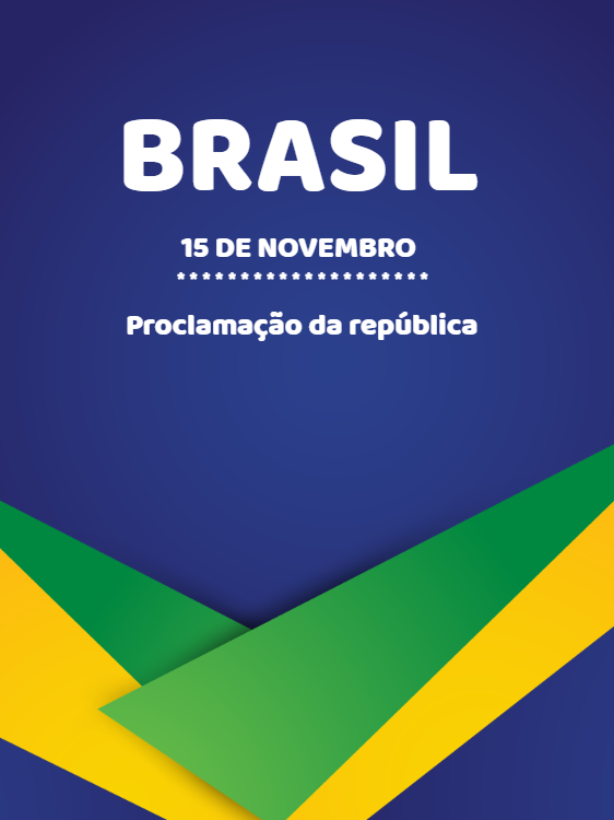 Proclamation Card of Brazil November 15