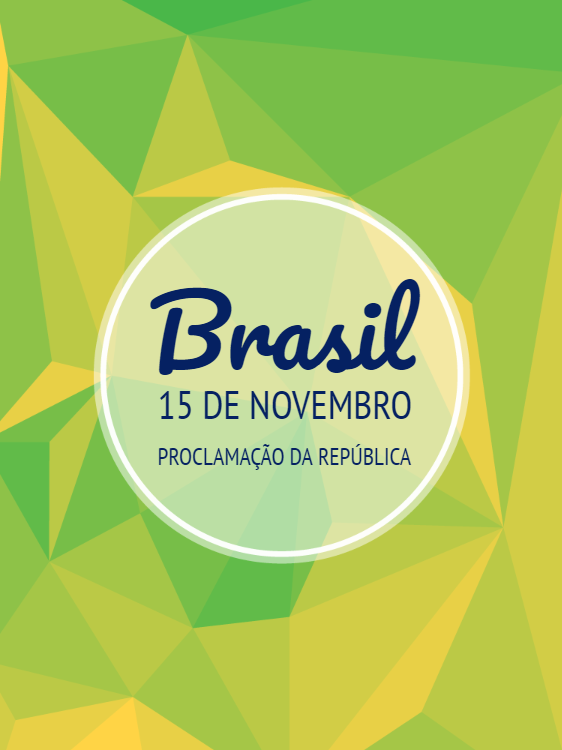 Proclamation Card of Geometric Brazil