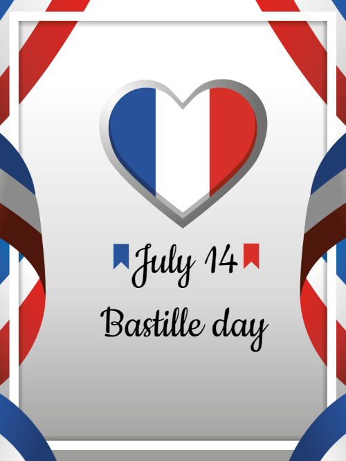 Bastille Day Invitation