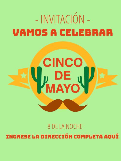 May 5th Invitation