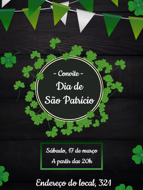 St. Patrick's Day Invitation Card