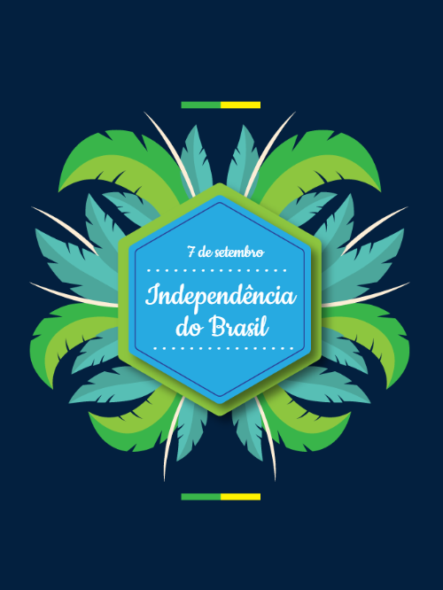 Independence of Brazil Invitation