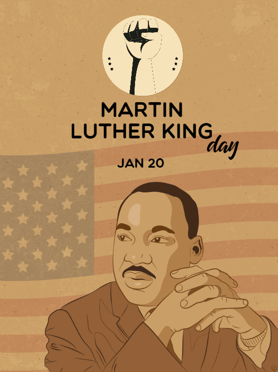 Martin Luther King Card