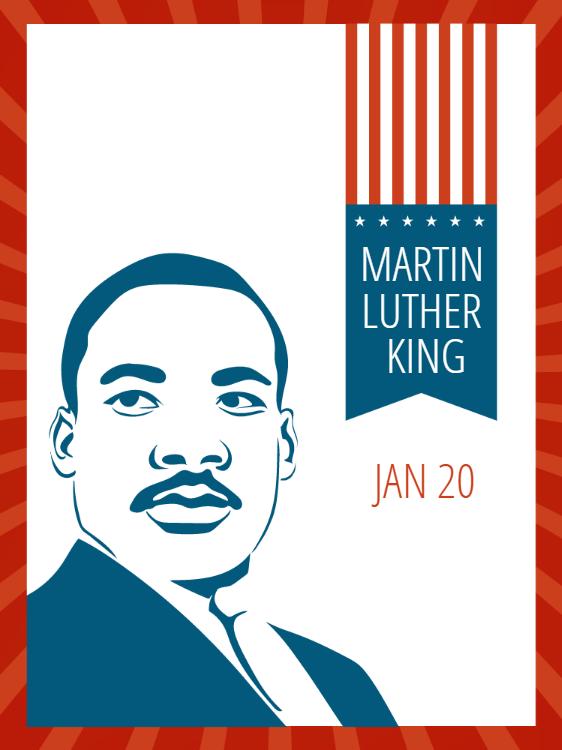 Martin Luther King Day Celebration Invitation