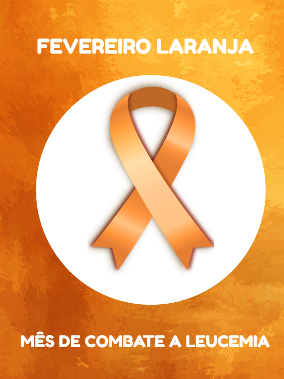 February Orange Leukemia Card