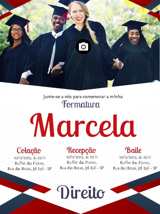 Graduation Invitation Photo