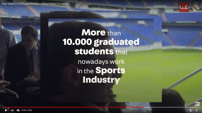 Imagen video more than 10000 graduated students