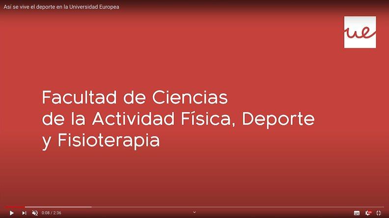 Master Universitario en Entrenamiento y Nutrición Deportiva