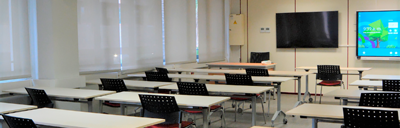 Aula polivalente Universidad Europea de Valencia