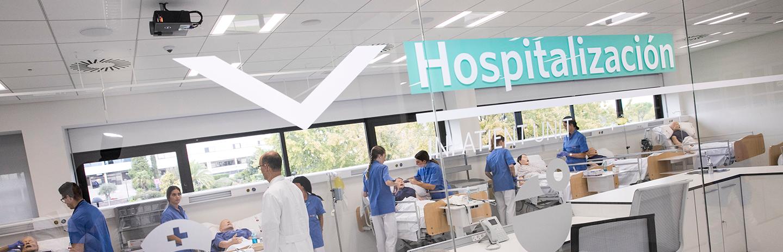 Hospital Simulado en campus de Villaviciosa de Odón