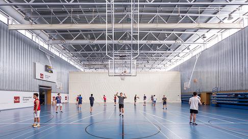 Instalaciones Club Deportivo Universidad Europea de Madrid