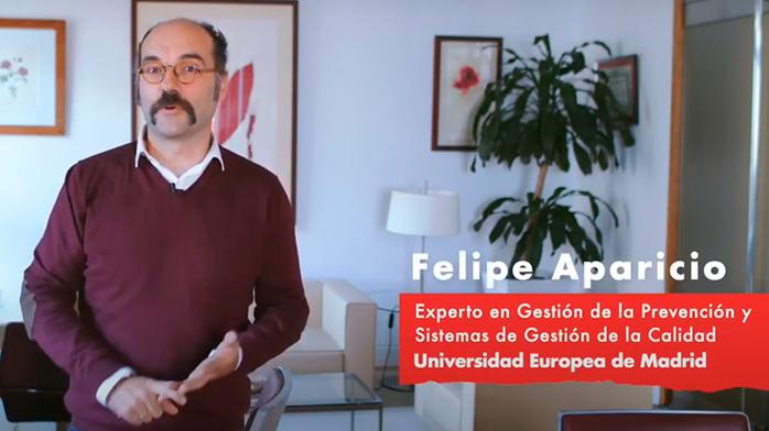 Felipe Aparicio - Master en Prevención de Riesgos Laborales