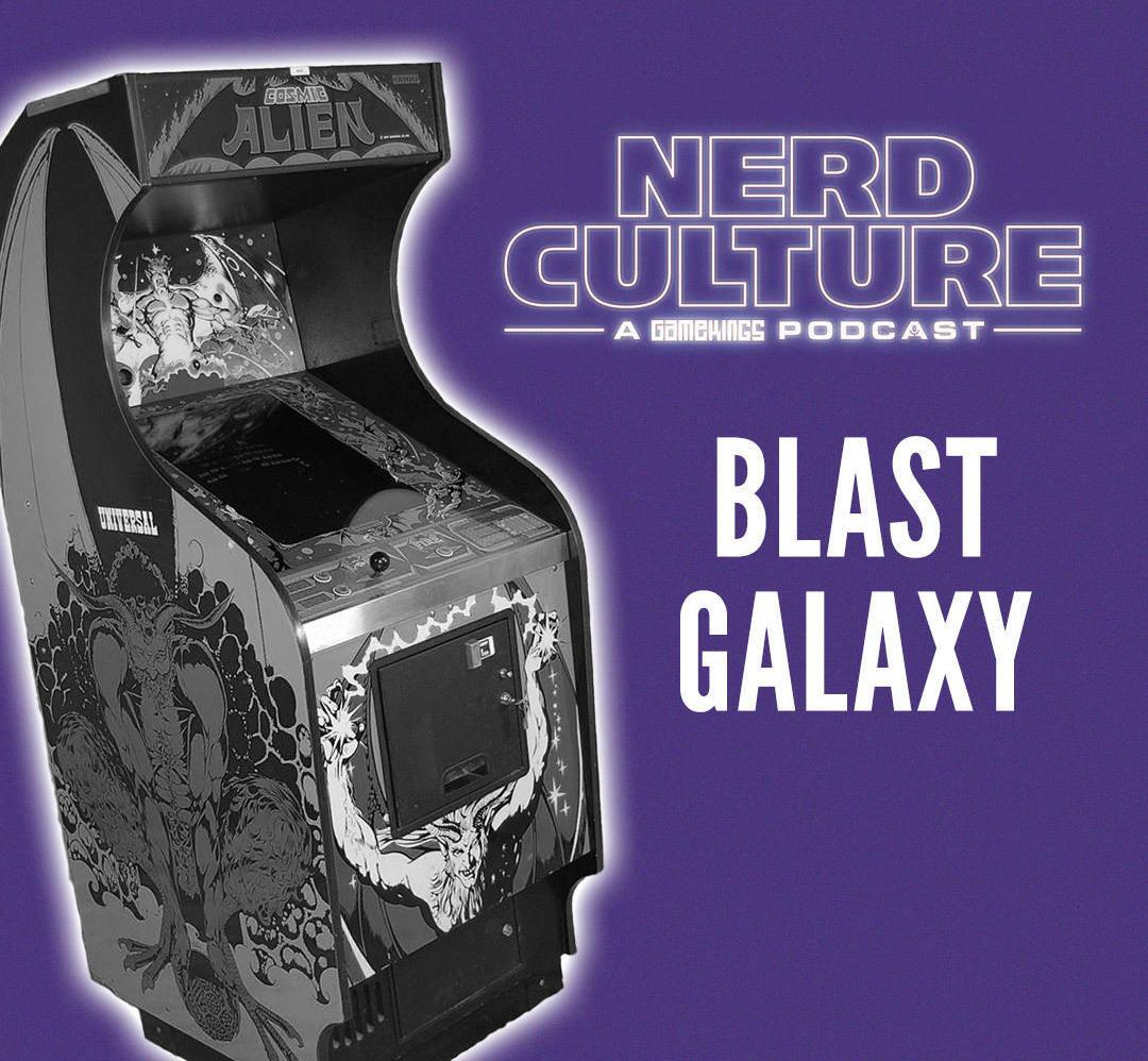 Nerd Culture: Steven Saunders over videogame arcade Blast Galaxy